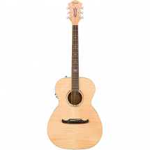 Fender T-Bucket 350-E Flame Maple Natural RW Westerngitarre