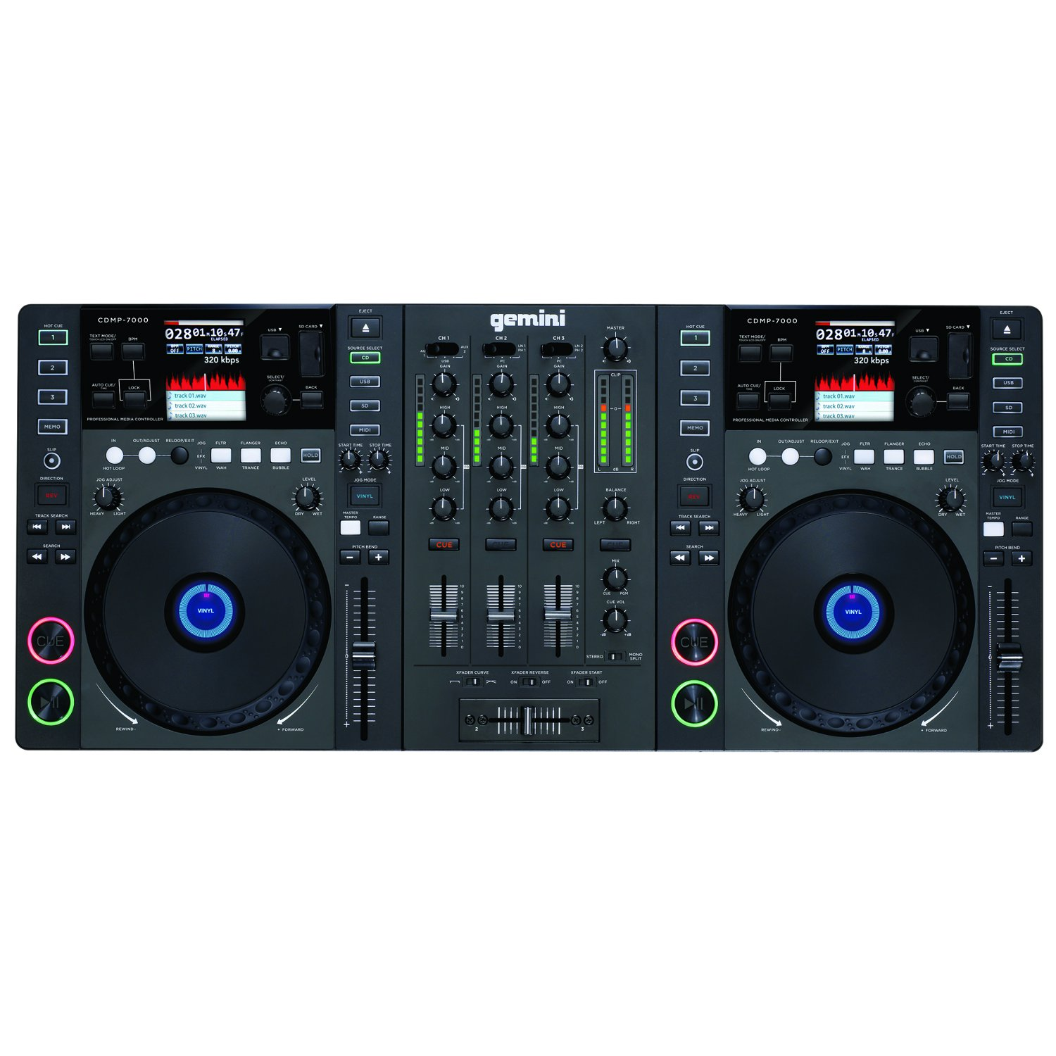 gemini cdmp 7000 doppelte multimedia dj station kaufen bax shop. Black Bedroom Furniture Sets. Home Design Ideas