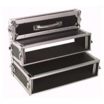 Omnitronic Tour Flightcase für doppelte CD-Player, 2HE