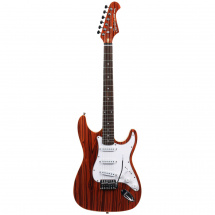Fazley FST118PW electric guitar, Padauk Wood