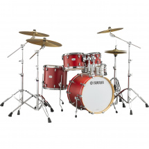 Yamaha Tour Custom TMP0F4 Candy Apple Satin 4-teiliger Kesselsatz