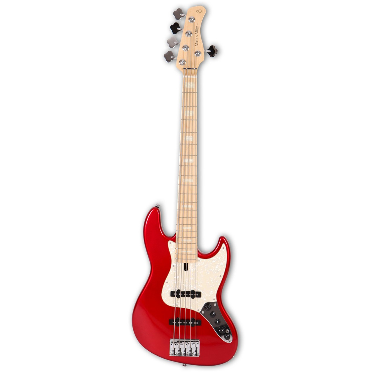 Sire Marcus Miller V7 5ST Swamp Ash Bright Metallic Red MN