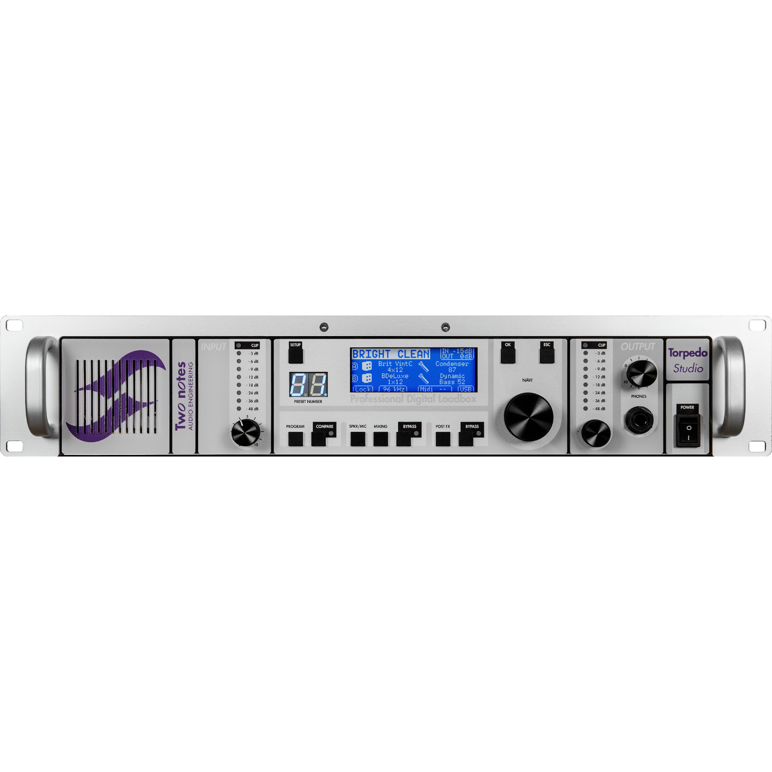 Two Notes Torpedo Studio digital loadbox