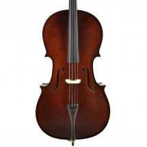 Leonardo LC-2044 4/4 cello with bow and carrying bag