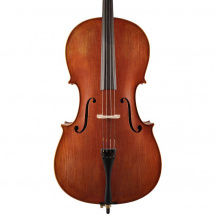 Leonardo LC-2744-M 4/4 cello with bow and carrying bag