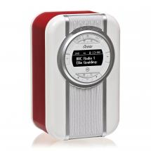 View Quest Christie portable radio, red