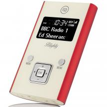 View Quest Blighty portable radio, red