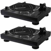 JB systems Q1-USB belt-drive turntable (set of 2)