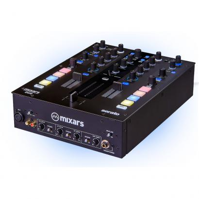 Mixars DUO MKII DJ mixer with Galileo Essential crossfader