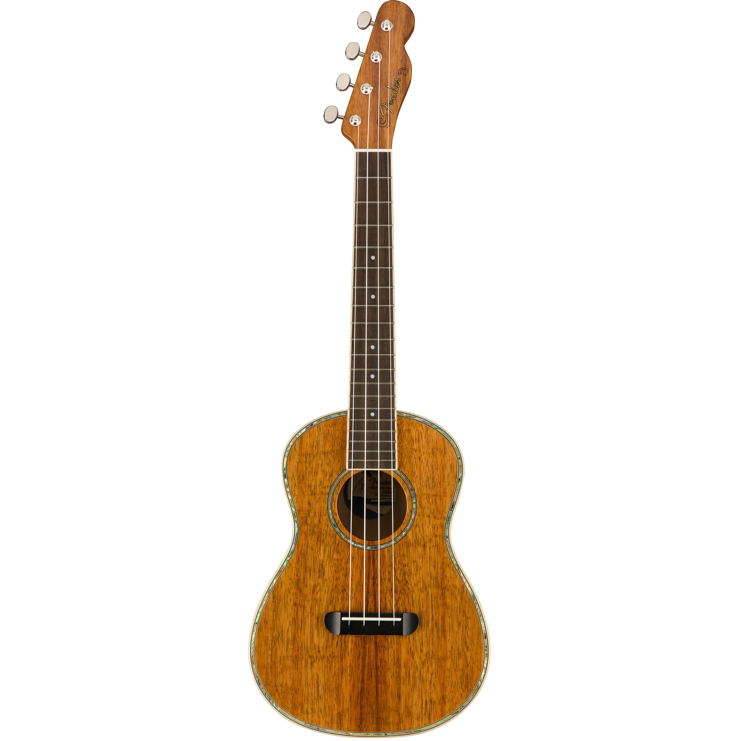 Fender California Coast Montecito tenor ukulele incl. gig bag, koa