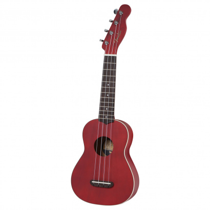 Fender California Coast Venice soprano ukulele, cherry