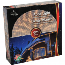 Christmas Gifts rope light, white, 9 m