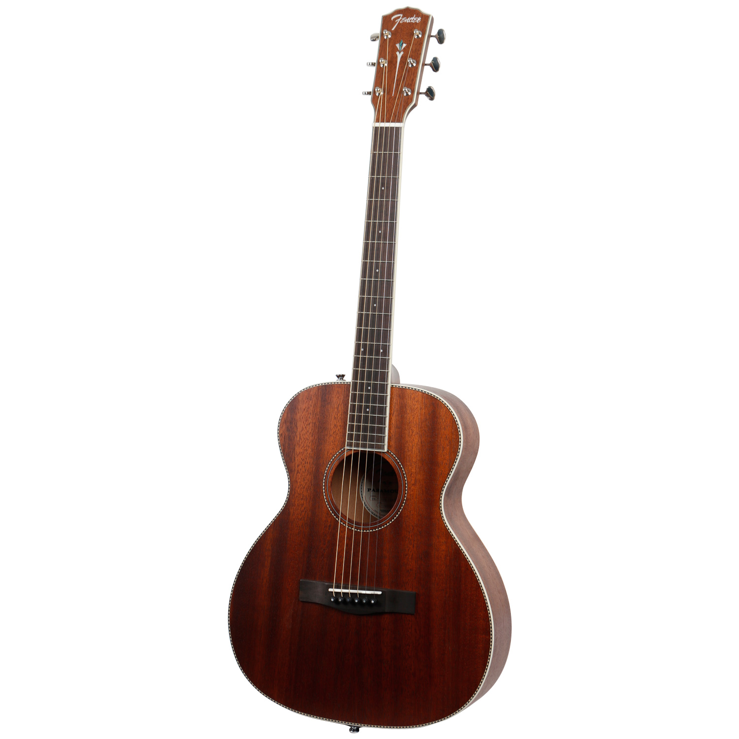 Fender Paramount PM TE Standard Travel All Mahogany travel guitar