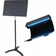 Manhasset TMH 48 Combo music stand with LED lamp