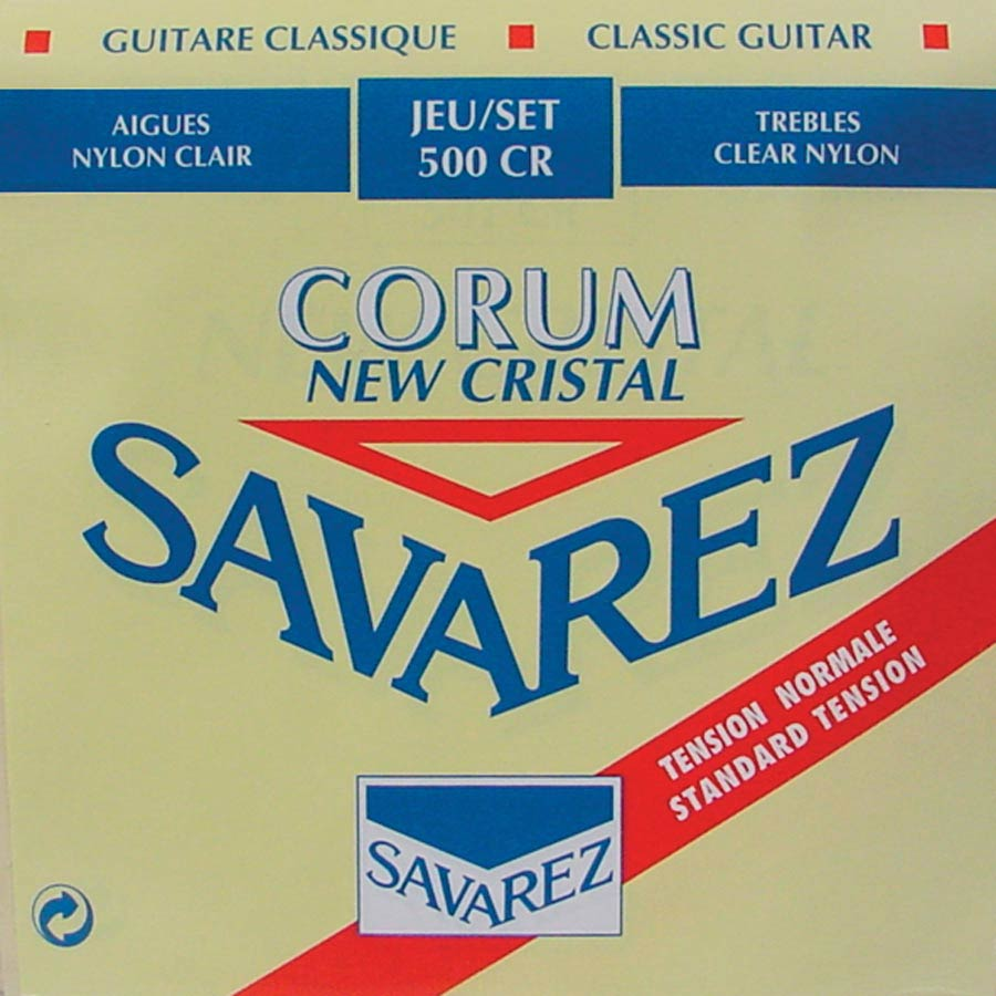 Savarez New Cristal Corum 500 CR string set, standard tension