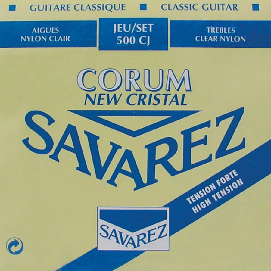 Savarez New Cristal Corum 500 CJ string set, high tension