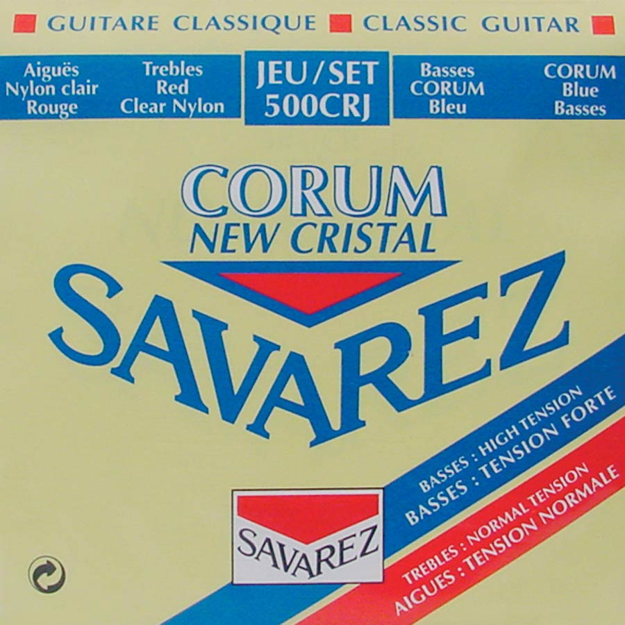 Savarez New Cristal Corum 500 CRJ string set, hybrid tension