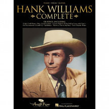 Hal Leonard - Hank Williams Complete PVG song book