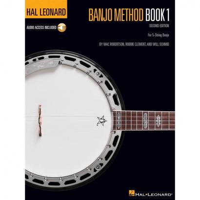 Hal Leonard - Banjo Method Book 1 instruction book