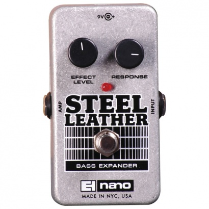 Electro Harmonix Steel Leather Attack Expander Bass-Pedal