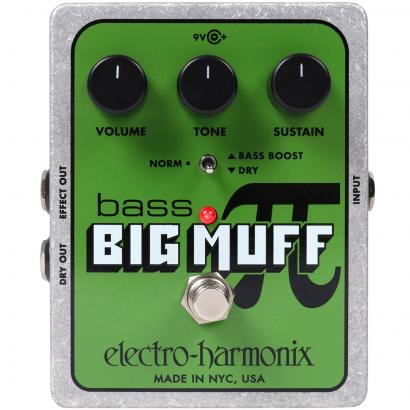 Electro Harmonix Bass Big Muff Pi Stompbox
