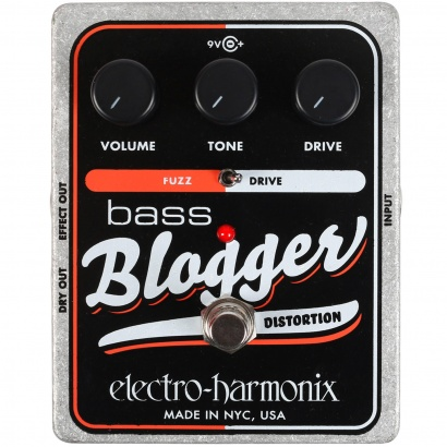 Electro Harmonix Bass Blogger overdrive distortion Effektpedal