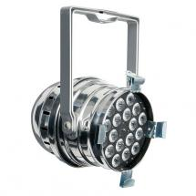 Showtec LED Par 64 Q4-18 Quad LED, silber