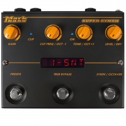 Markbass Super Synth digitales Effektpedal