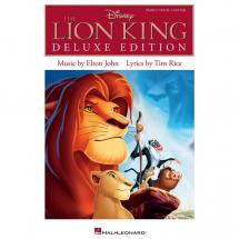 Hal Leonard - The Lion King (Deluxe Edition) PVG song book