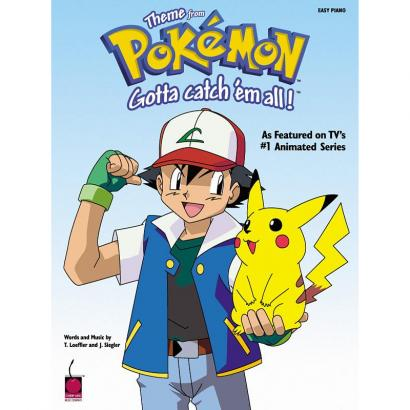 Hal Leonard - Pokémon Gotta Catch 'Em All! piano sheet music