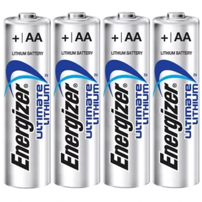 Energizer Ultimate Lithium L91 AA Batterien (4 Stück)