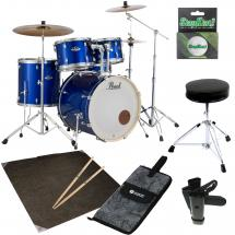 Pearl Export High Voltage Blue drum kit