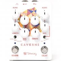 Keeley Caverns Delay Reverb V2 effects pedal