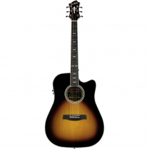 Hagstrom Siljan II Dreadnought CE Tobacco Sunburst acoustic steel-string guitar