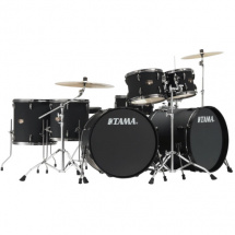 Tama IP72ZH8N-BBOB Double Bass drum kit Black + cymbals