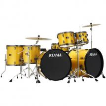 Tama IP72ZH8N-BGYS Double Bass drum kit + cymbals