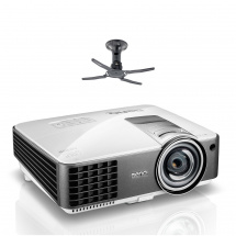 BenQ MW820ST DLP projector with NewStar bracket