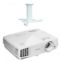 BenQ TW529 projector with NewStar bracket