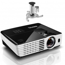 BenQ TH682ST projector with NewStar bracket