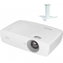 BenQ TH683 projector with NewStar bracket