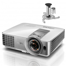 BenQ MW632ST projector with NewStar bracket
