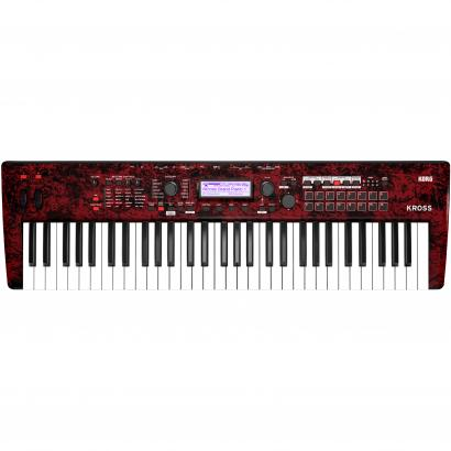 Korg KROSS 2 61-RM Red Marbled synthesizer workstation