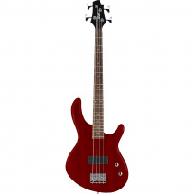 Cort Action Junior Open Pore Black Cherry electric bass guitar