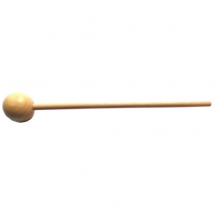 Go Percussion KL1 xylophone mallets with wooden tip, 19.5 cm