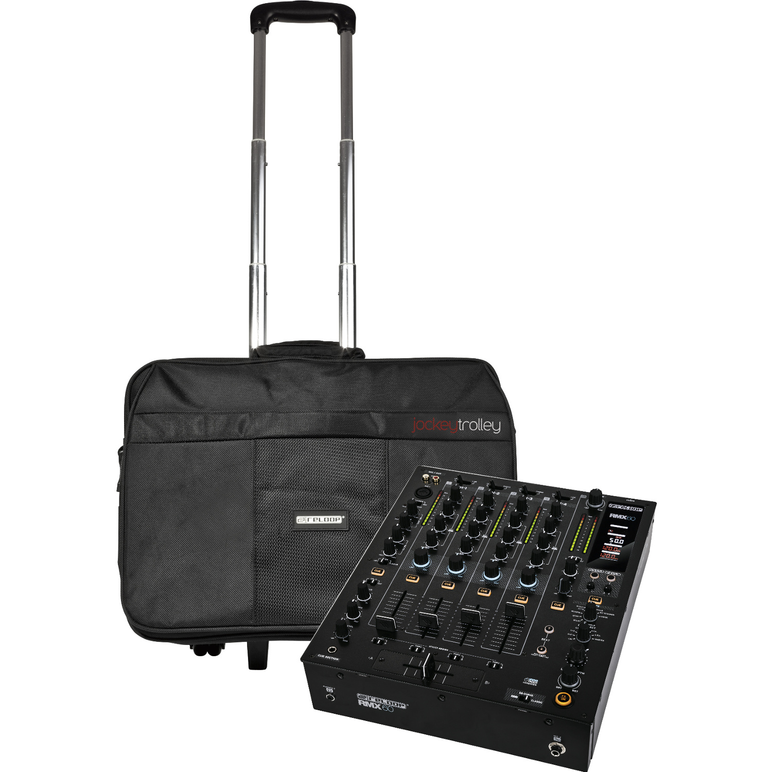 reloop rmx 60 dj mixer free jockey trolley kaufen bax shop. Black Bedroom Furniture Sets. Home Design Ideas