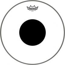 Remo CS-0316-10 Controlled Sound Clear Black Dot 16-inch