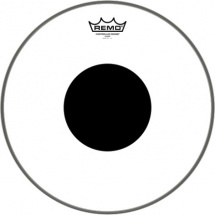 Remo CS-0312-10 Controlled Sound Clear Black Dot 12-inch