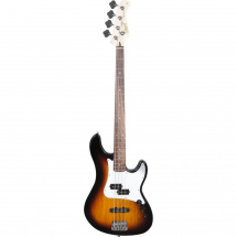 Cort GB14PJ 2-Tone Sunburst electric bass guitar