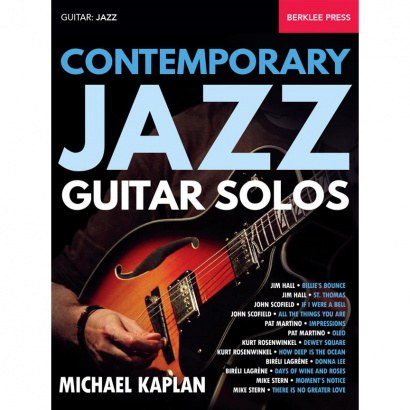 Hal Leonard - Contemporary Jazz Guitar Solos guitar book