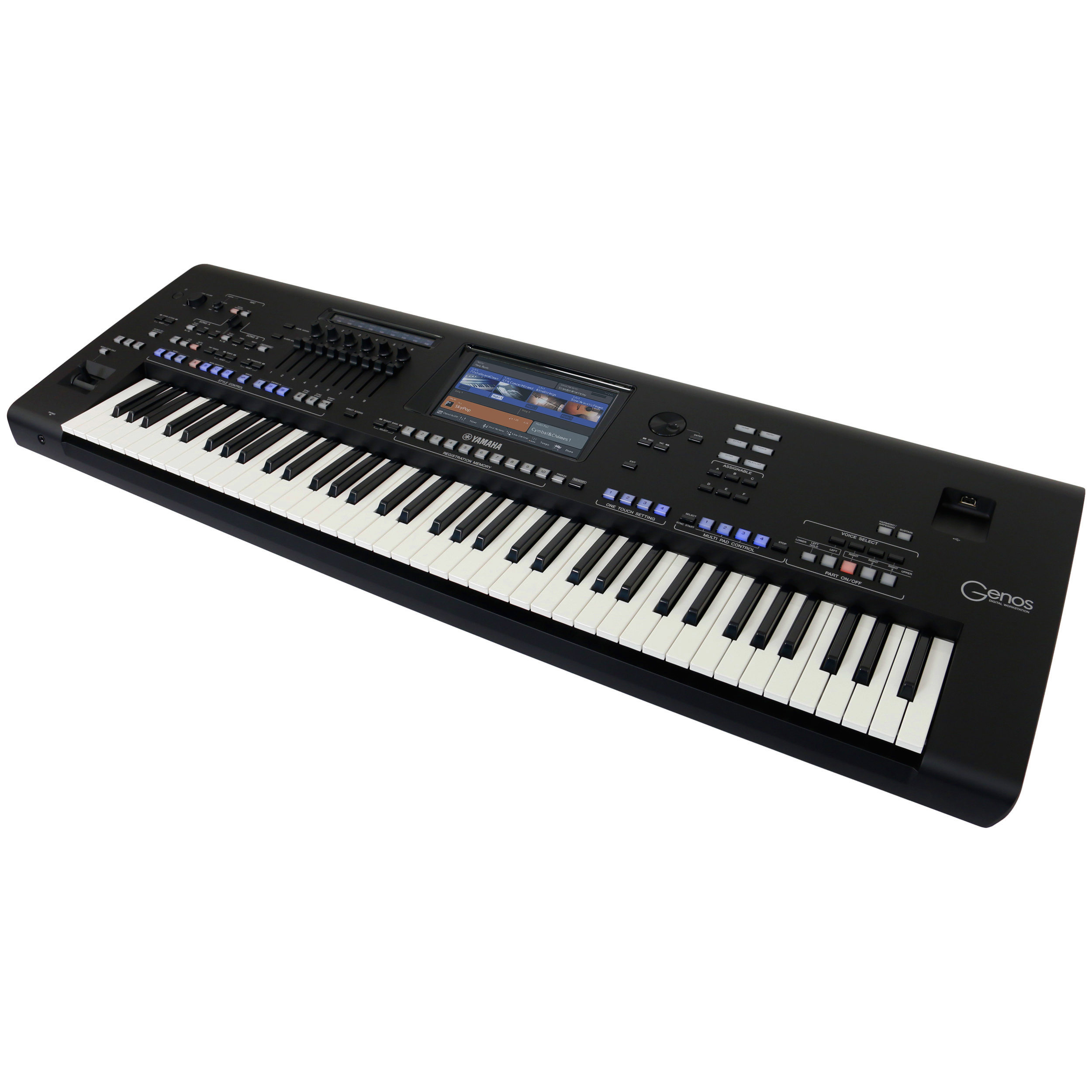 Yamaha Genos Workstation Keyboard : yamaha genos 76 note workstation keyboard kaufen bax shop ~ Vivirlamusica.com Haus und Dekorationen